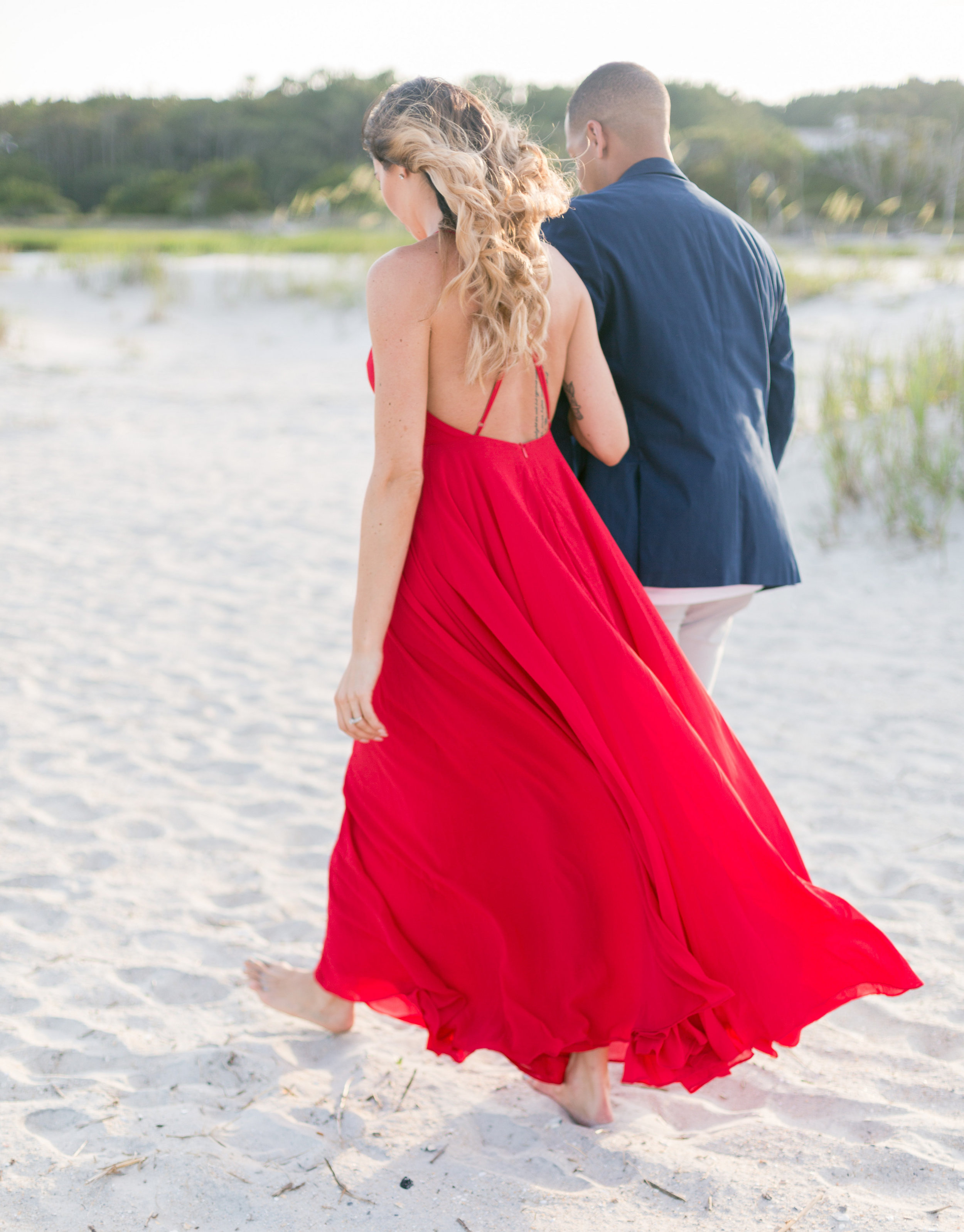 Lowcountry Engagement Session in Pawleys Island, SC