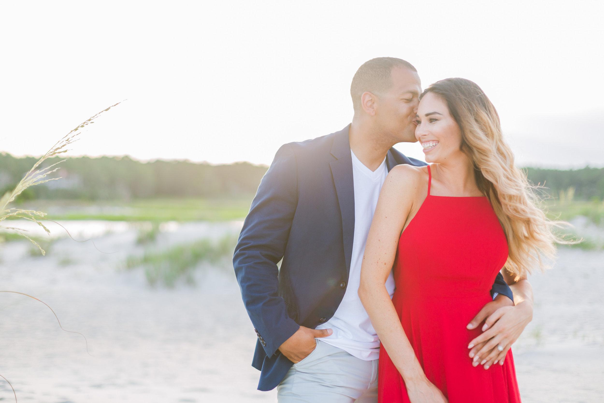 Pawleys Island wedding engagement by Myrtle Beach vendor Kristy Roderick Photography
