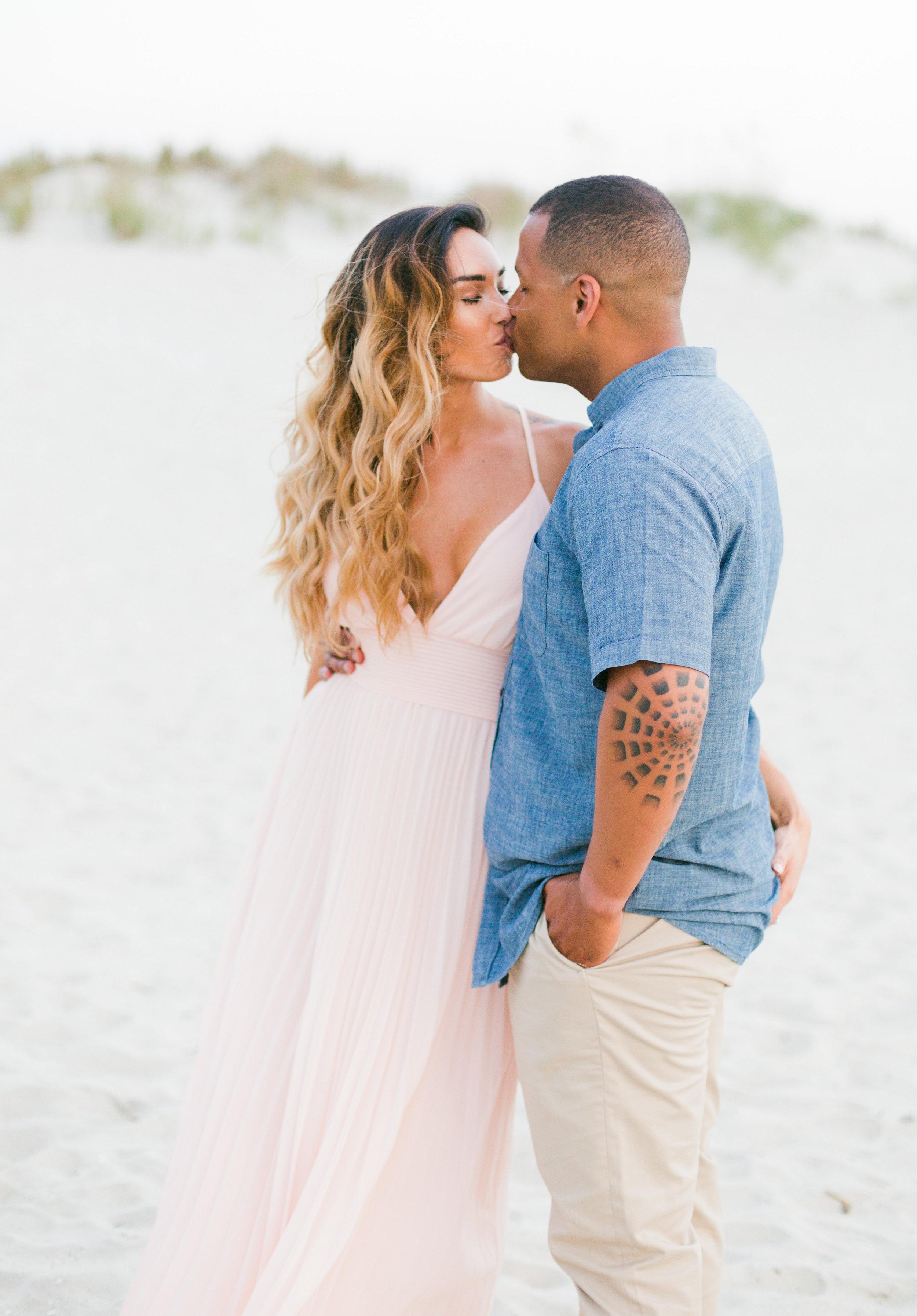 Chris + Felisha's Evening engagement in Myrtle Beach, South Carolina