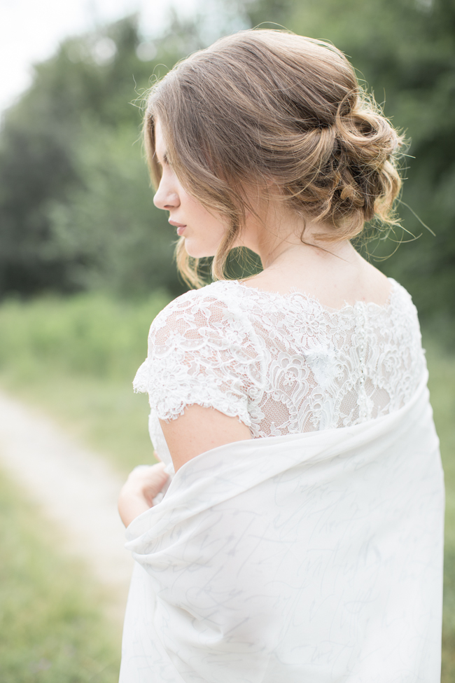 Savannah wedding dress from Bleubelle Bridal at Savannah Dairy Farm