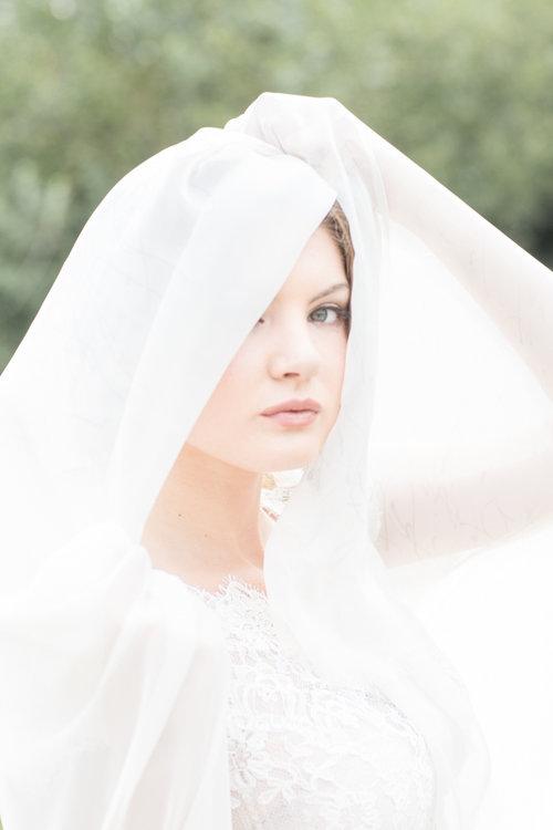 Savannah wedding dress from Bleubelle Bridal at Savannah Dairy Farm