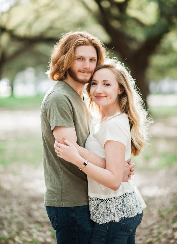 Taylor + Zakari's Charleston Wedding Engagement
