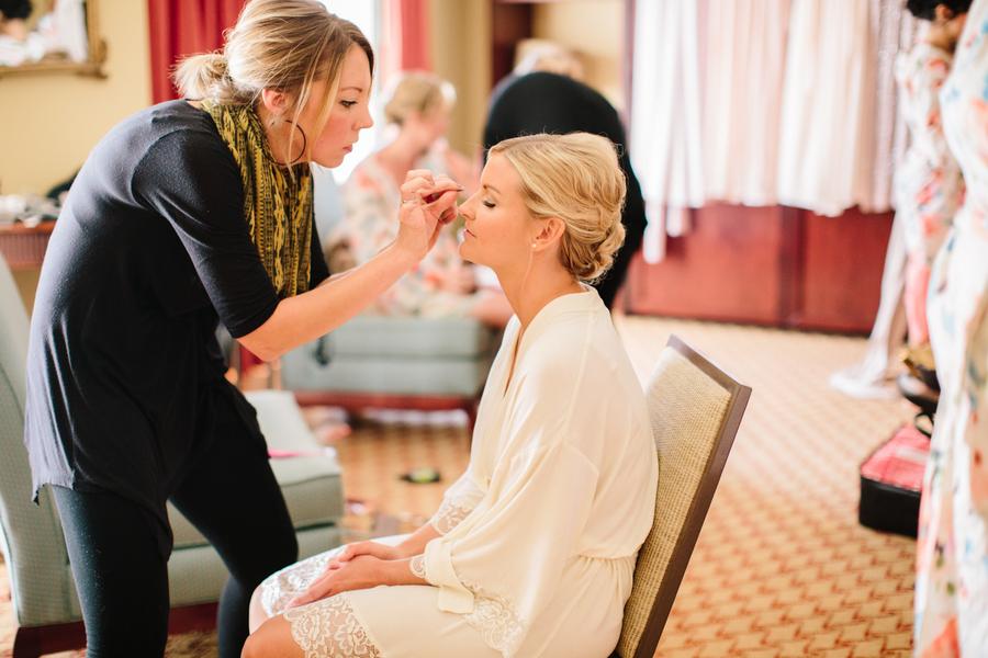 Charleston wedidng hair and makeup by Tabula Rasa