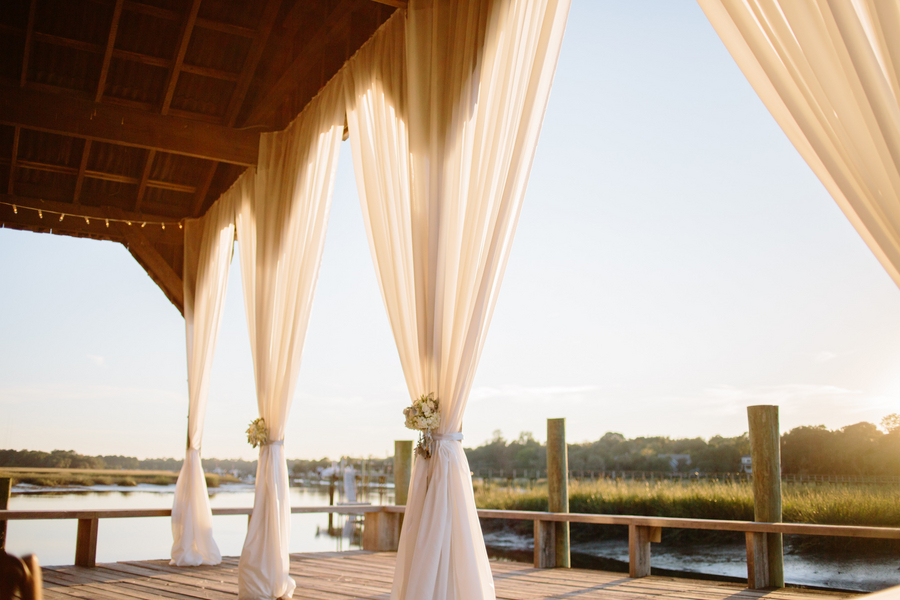 Cotton Dock Wedding at Boone Hall Plantation by Duvall Events