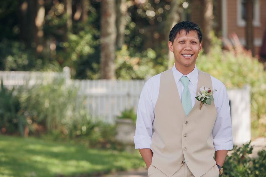 August wedding in Charleston, SC