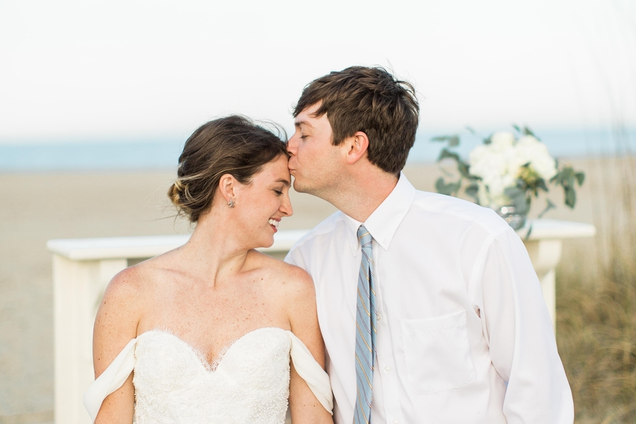 Coastal Savannah, GA wedding inspiration on Tybee Island by Marianne Lucille Photography
