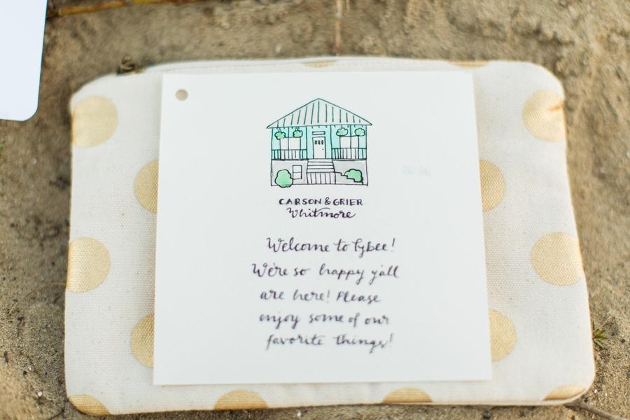 Coastal Georgia wedding invitations by JLeslie Designs