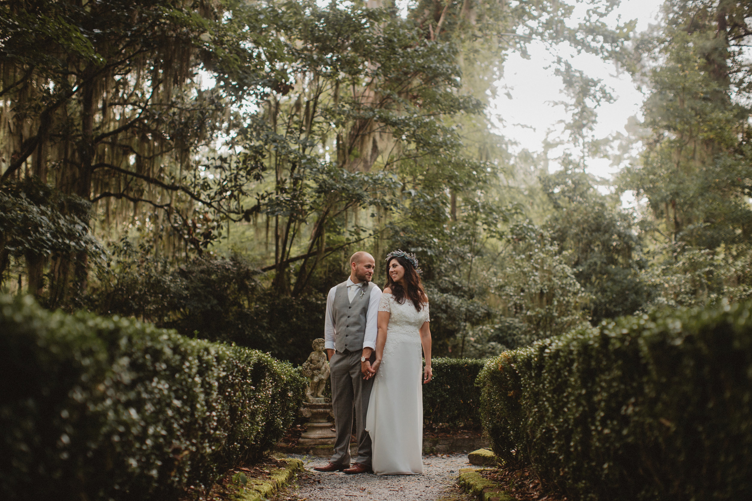 Gina + Matt's Magnolia Plantation and Gardens wedding