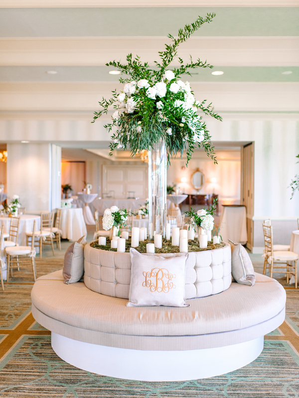 Myrtle Beach wedding at Dunes Golf and Beach Club wedding by South Carolina vendors Pasha Belman Photography, Blossoms Events