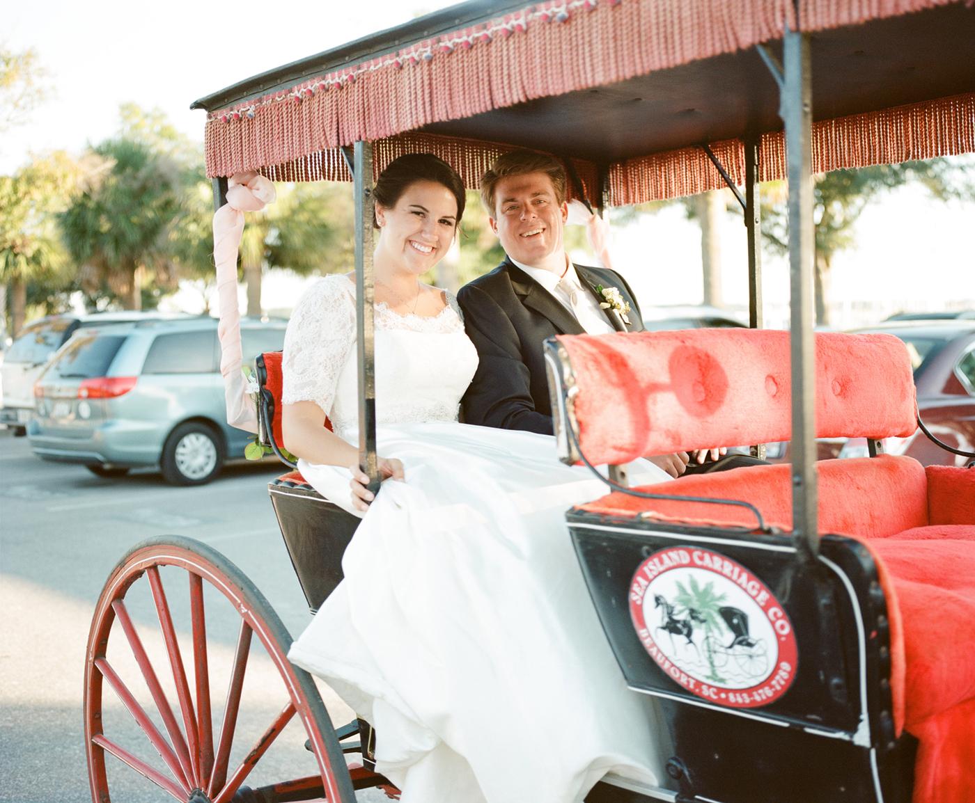 Bridget + Trent's Beaufort Inn wedding by Hilton Head vendor Kim Box Photography - A Lowcountry Wedding Magazine
