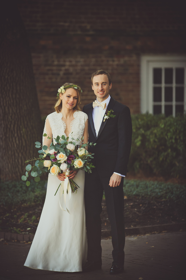 Winter wedding at The Historic Rice MIll Building by Stephanie Gibbs Events