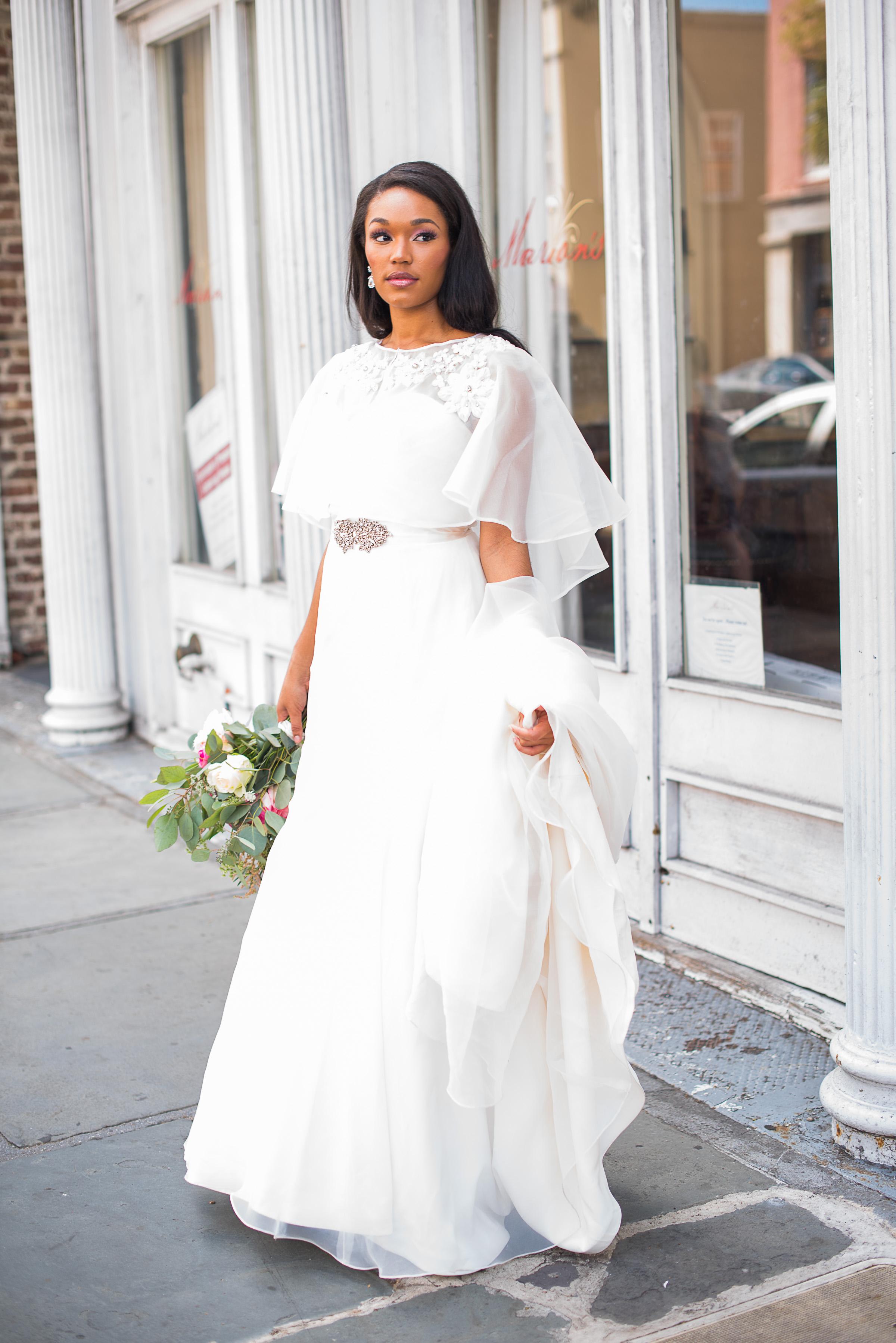 Charleston wedding dress from Ivory + Beau