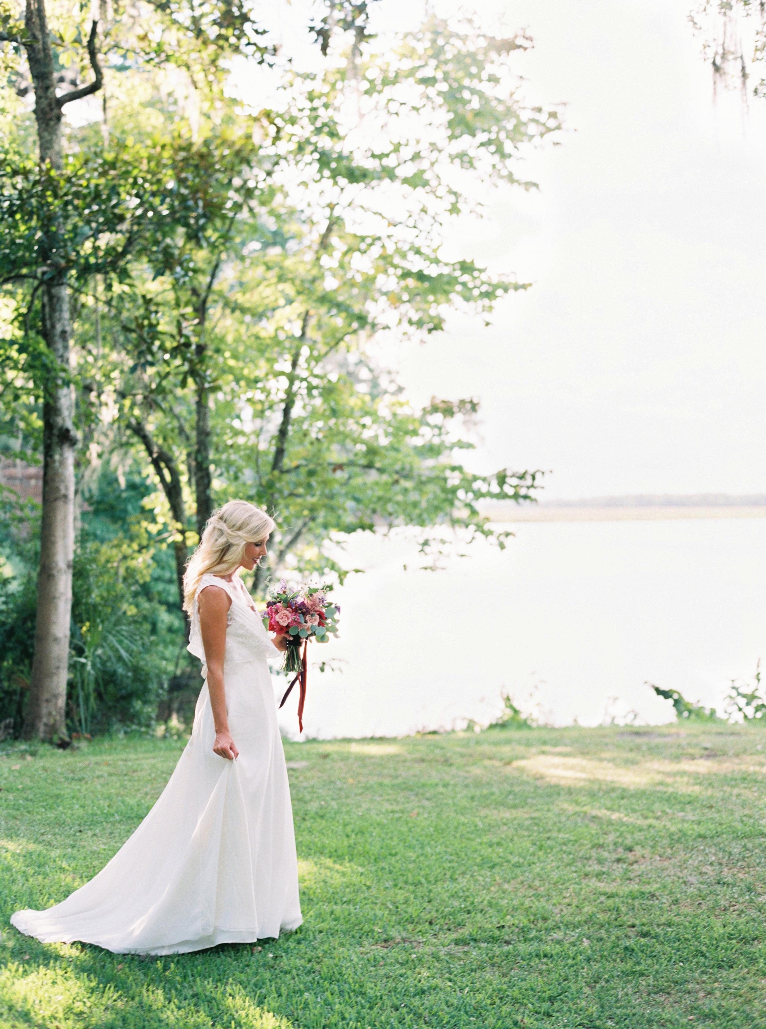 Charleston wedding dress designer - Emily Kotarski Bridal