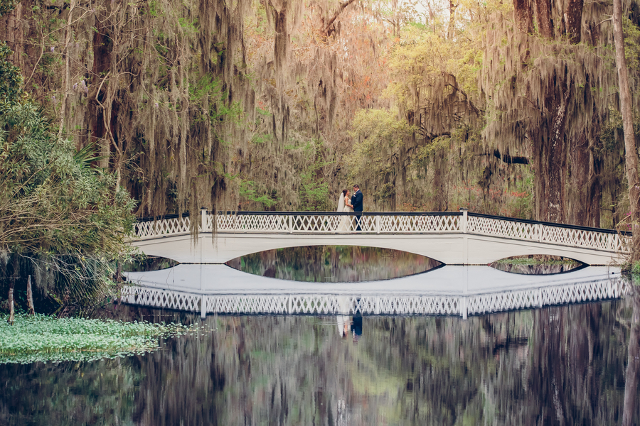 Courtney + Ray's Magnolia Plantation and Gardens wedding in Charleston, SC by Richard Bell Photography