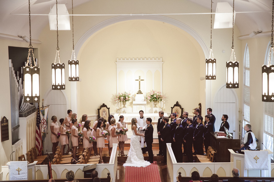 Charleston wedding at Alhambra Hall by Fox Events