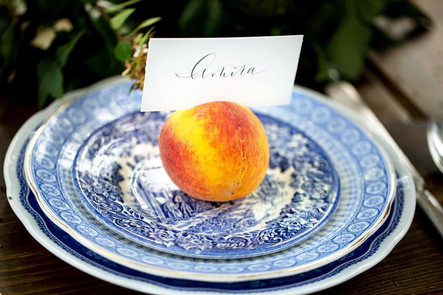 Peach Georgia wedding inspiration by Cassie Xie