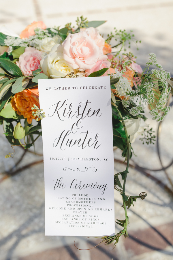 Charleston wedding in South Carolina at The Gadsden House by Priscilla Thomas Photography