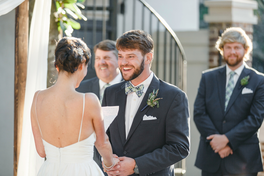 Weddings in Charleston, South Carolina at The Gadsden House by Priscilla Thomas Photography