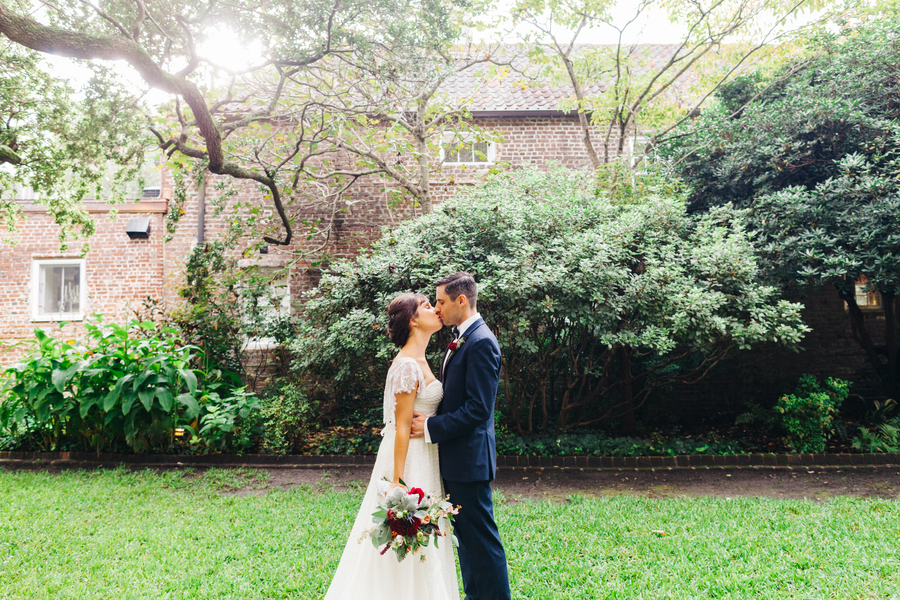 Cammie + Joseph's Intimate Charleston wedding by Riverland Studios