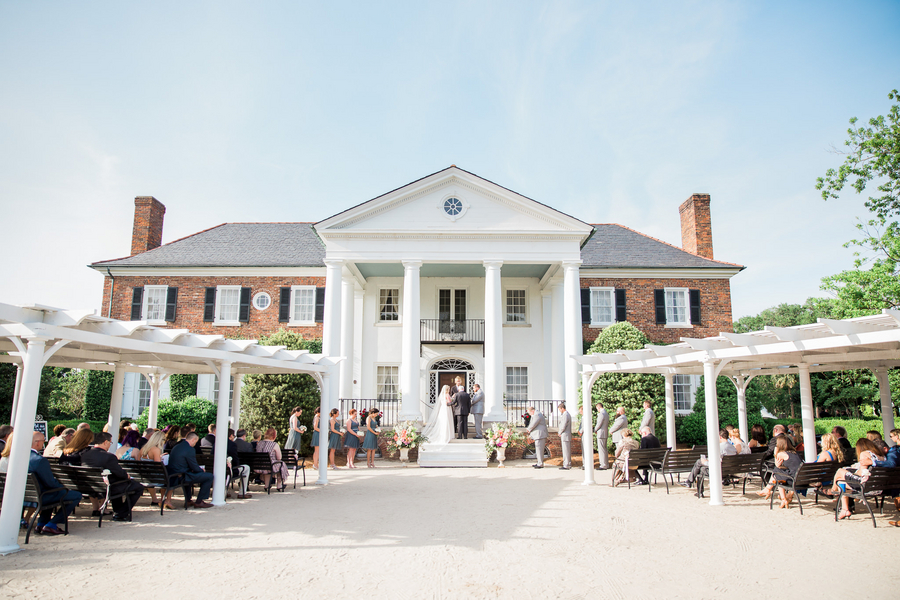 Outdoor Plantation ceremony by Confetti Events