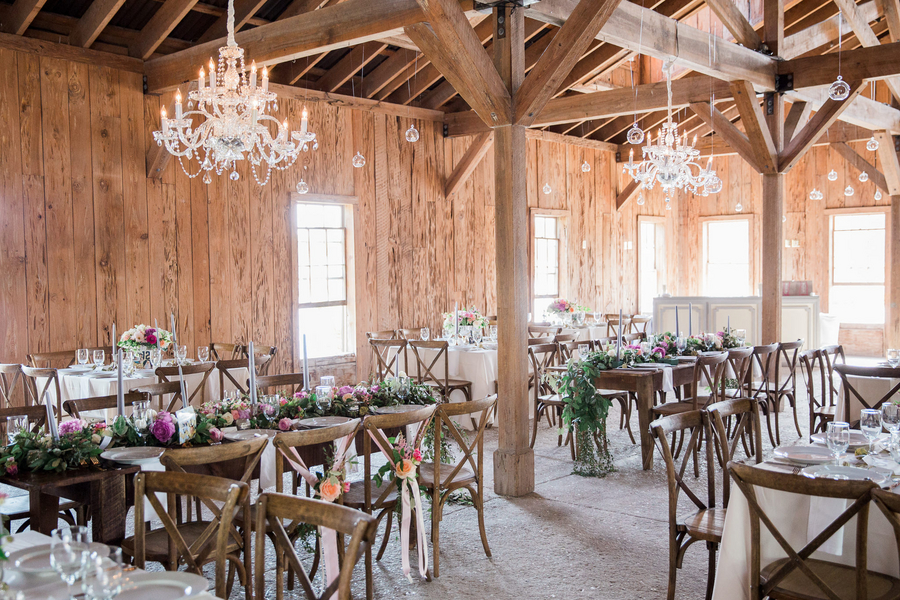 Wedding reception at The Cotton Dock by One LIfe Photography