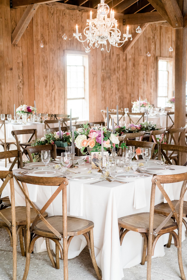 Lowcountry Wedding reception by Confetti Events SC