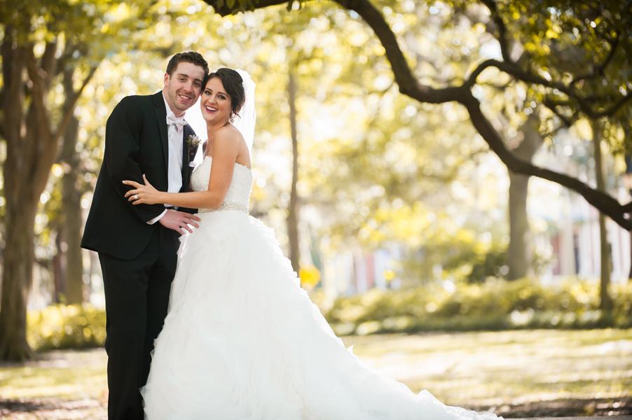 Chris + Amanda's wedding in Savannah, Georgia