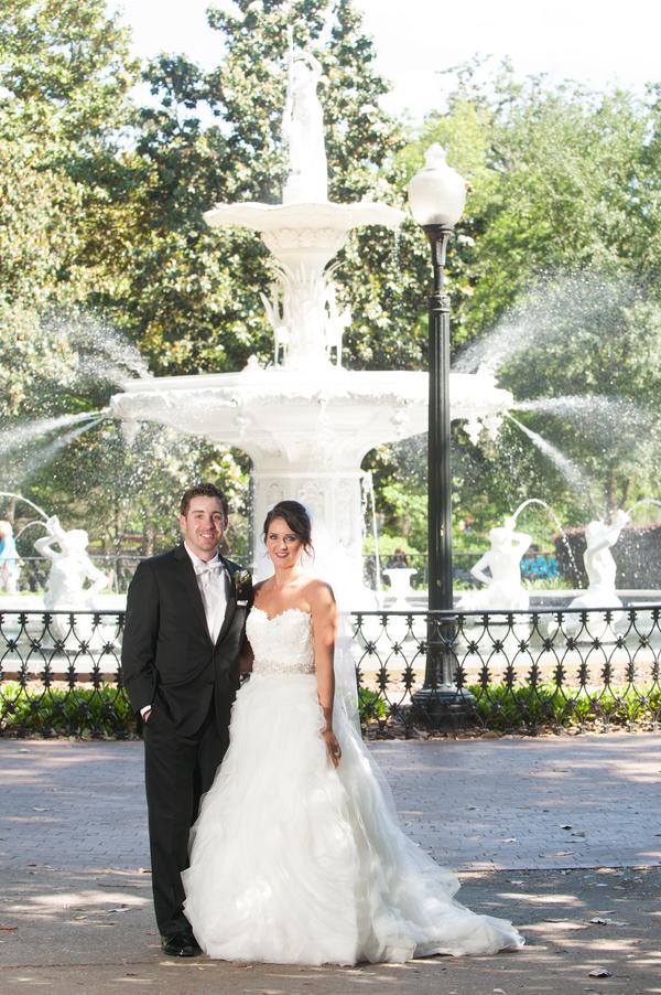 Amanda + Chris' wedding in Savannah, Georgia
