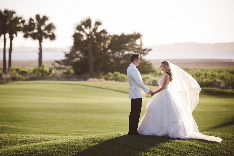 Malsert + Brian's River Course wedding on Kiawah Island, South Carolina