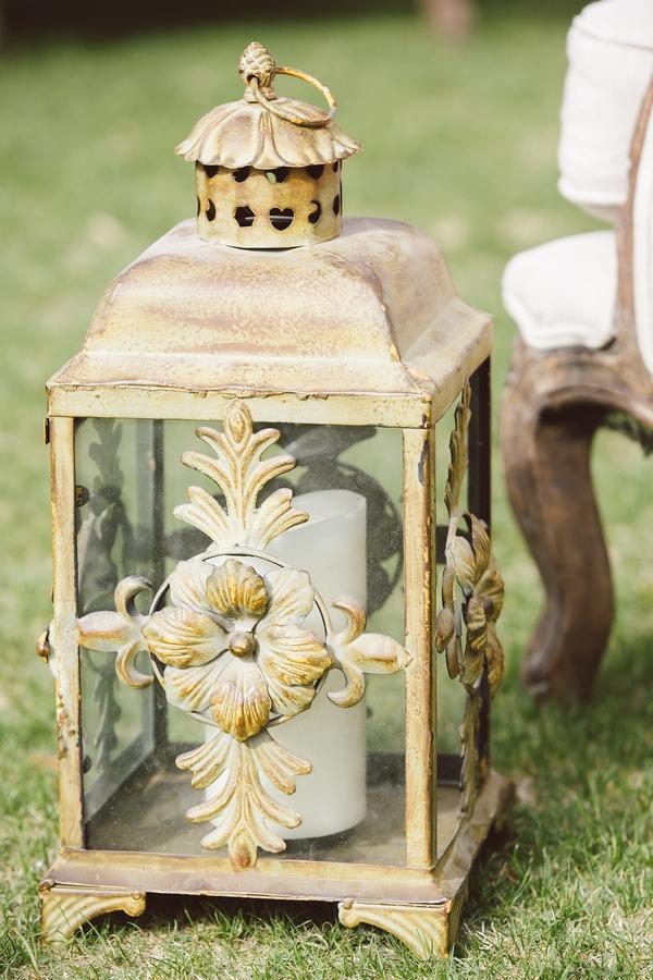 Wedding lantern decor by Intrigue Design & Events