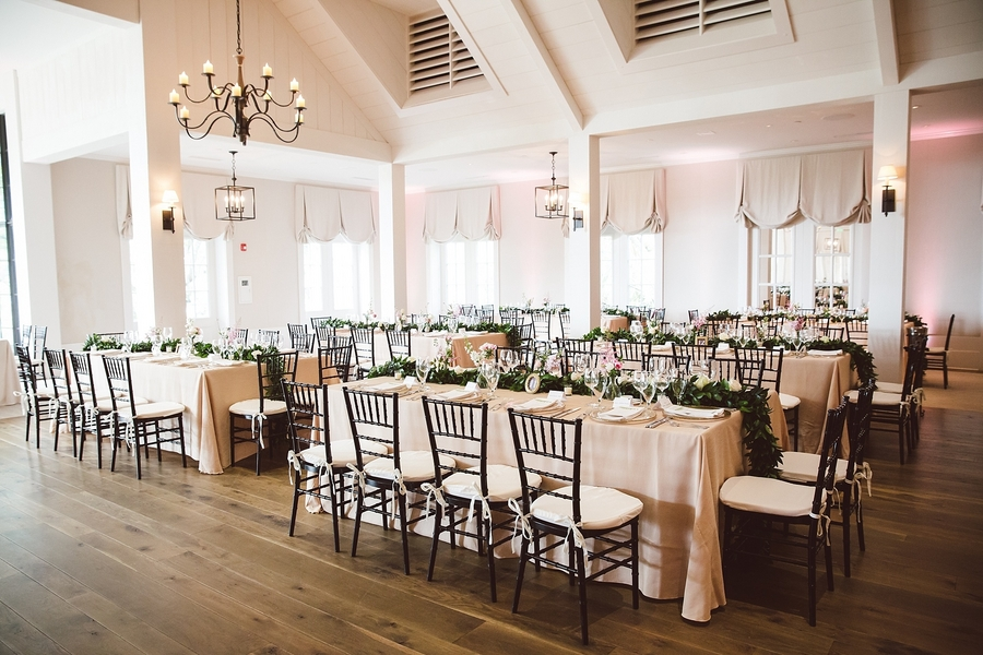 Spring wedding at The River Course on Kiawah Island, SC