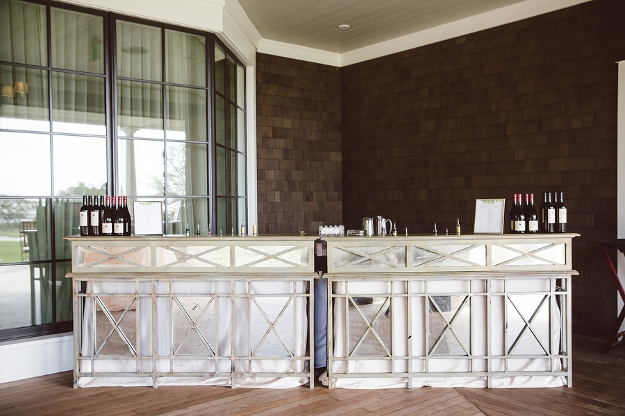 Custom mirrored bar