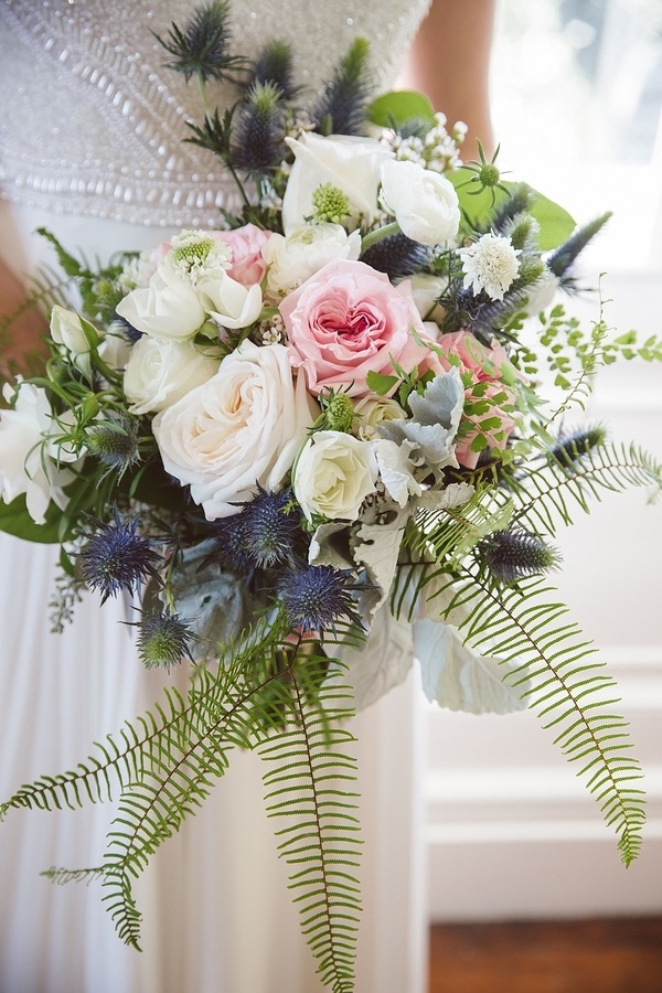 Garden-style bouquet by Ooh! Events