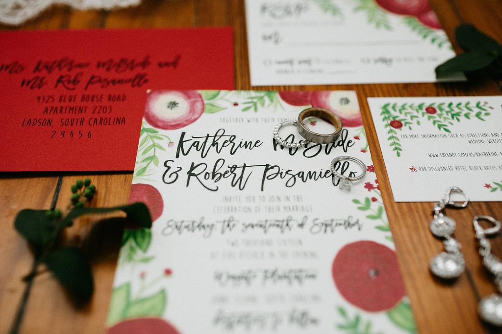 Charleston wedding invitations