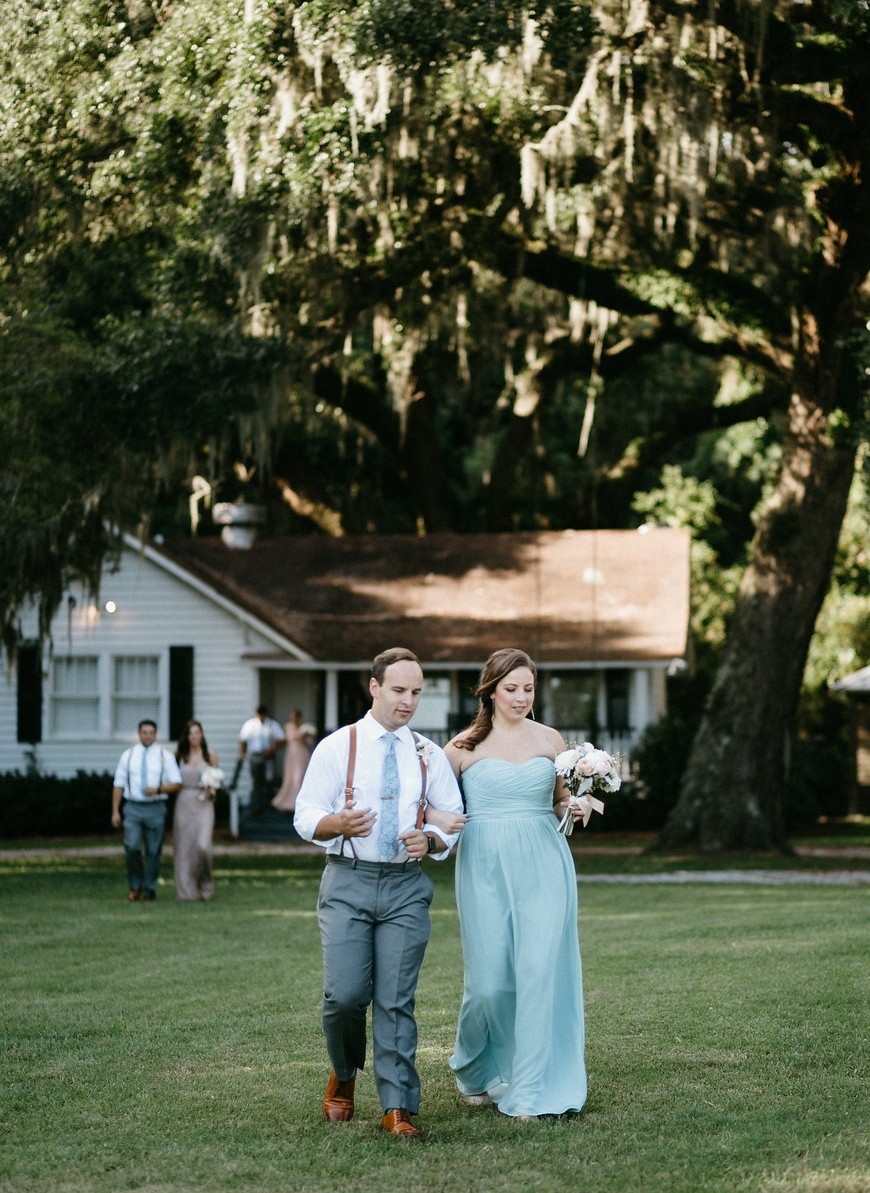 Wingate Plantation wedding ceremony on Johns Island l Charleston, SC planners l Pure Luxe Bride