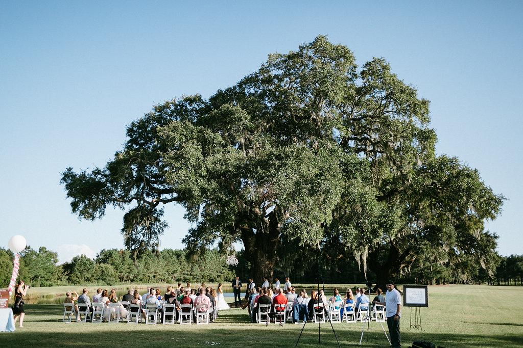 Wingate Plantation ceremony