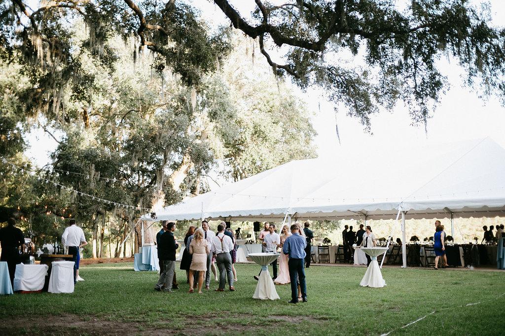 Wingate Plantation wedding reception