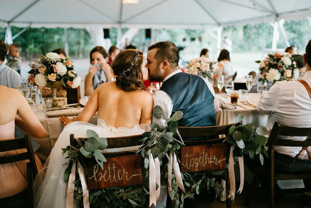 Katherine + Rob's Wingate Plantation weddingby Monika Gauthier