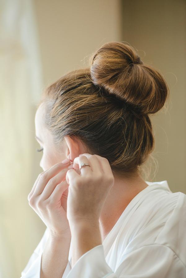 Charleston wedding hair by Lashes and Lace Bridal Hair & Makeup at Upstairs at Midtown