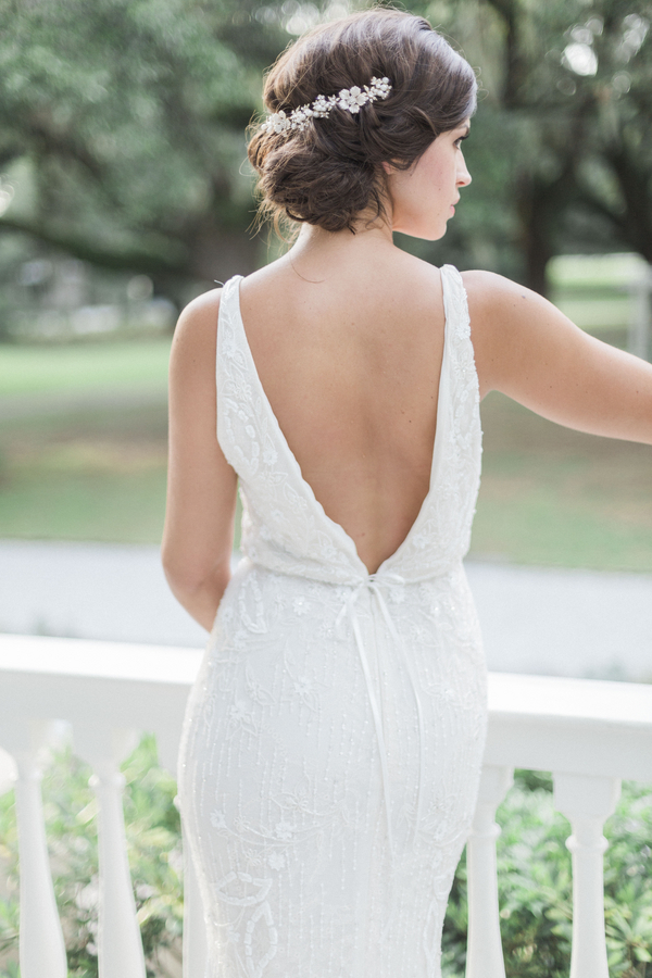 Glamorous McLeod Plantation wedding gown from Gown Boutique of Charleston