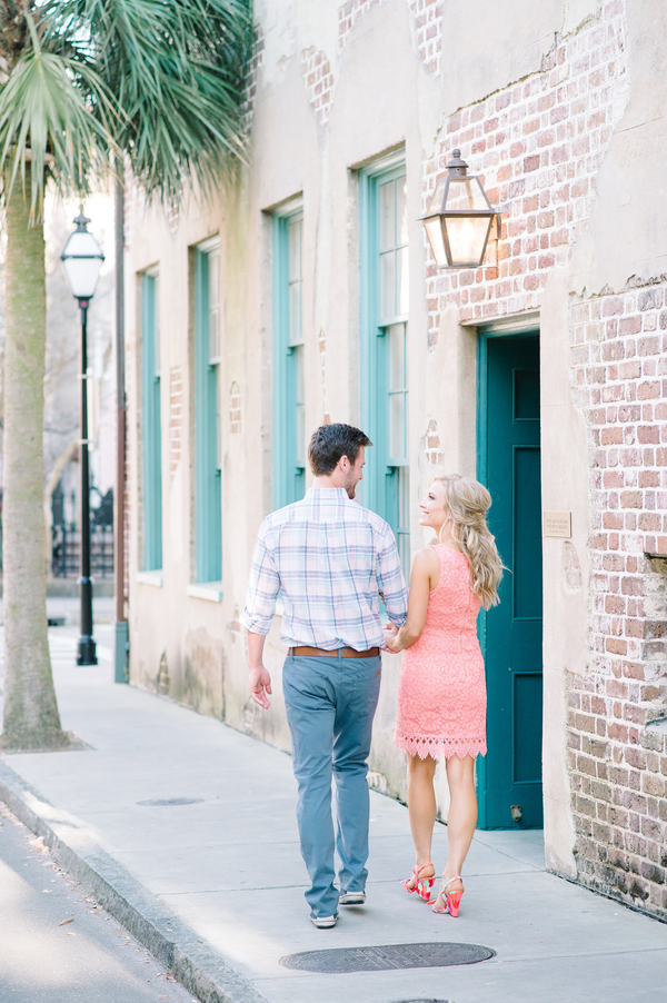 Shelby + Jeremiah's Downtown Charleston engagement session by photographers - Aaron and Jillian Photography