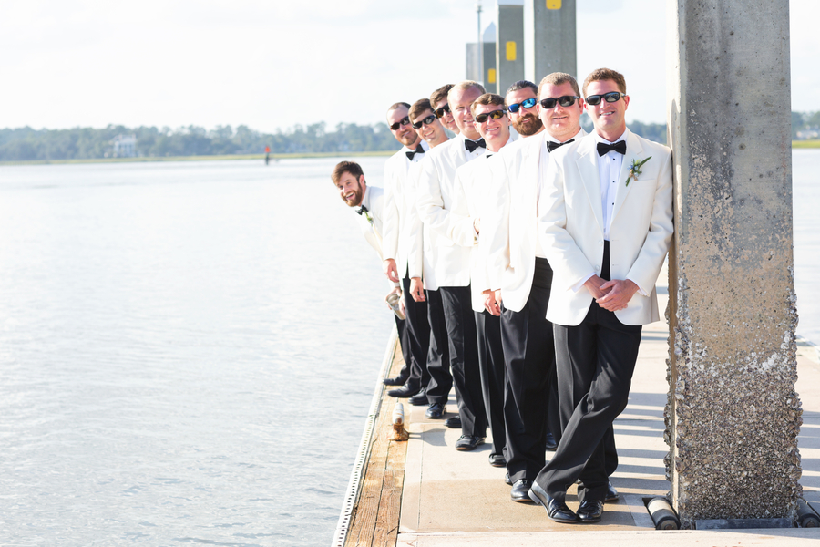 Georgia wedding at The Savannah Yacht Club by Posh Petals & Pearls