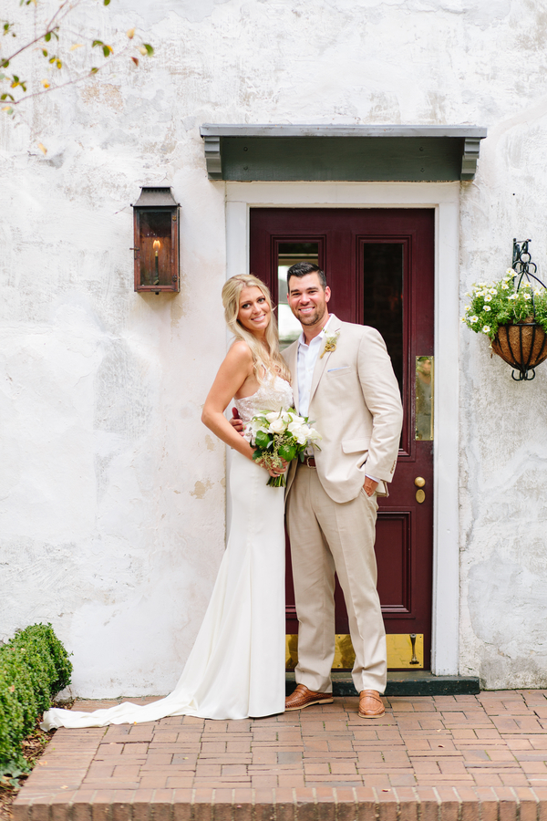 Charleston wedding at Zero George Hotel