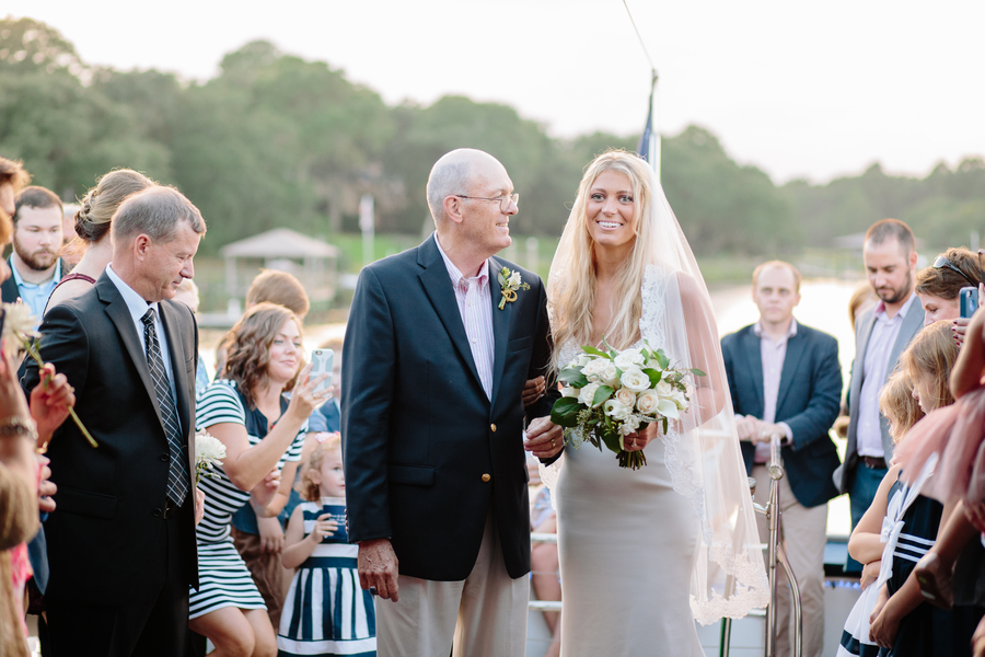 Carolina Girl Yacht wedding
