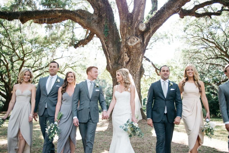 Destination wedding at The Legare Waring House