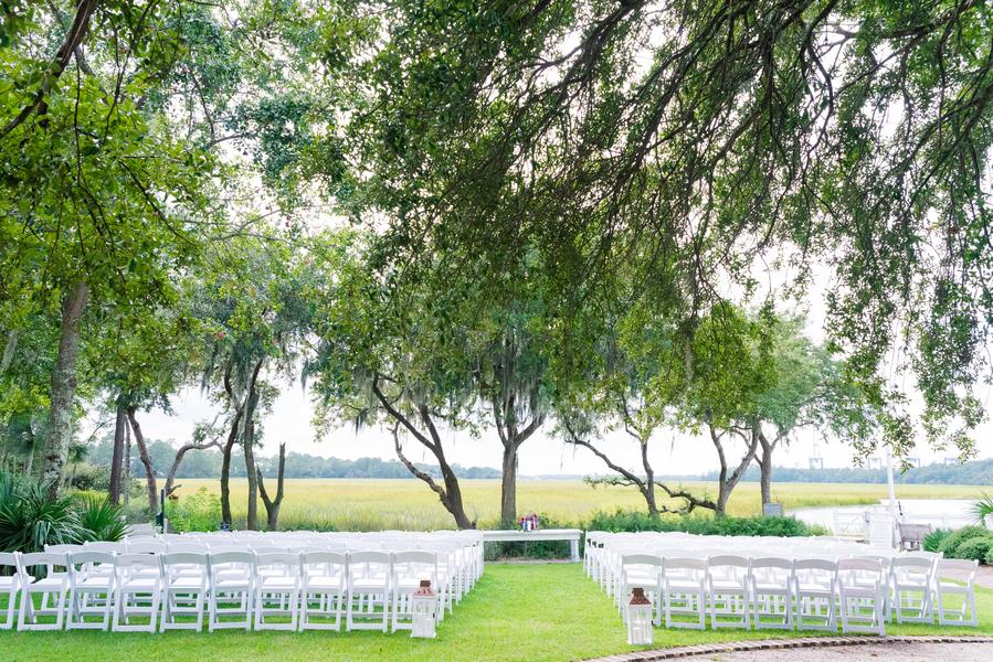 Creek Club at I'On wedding