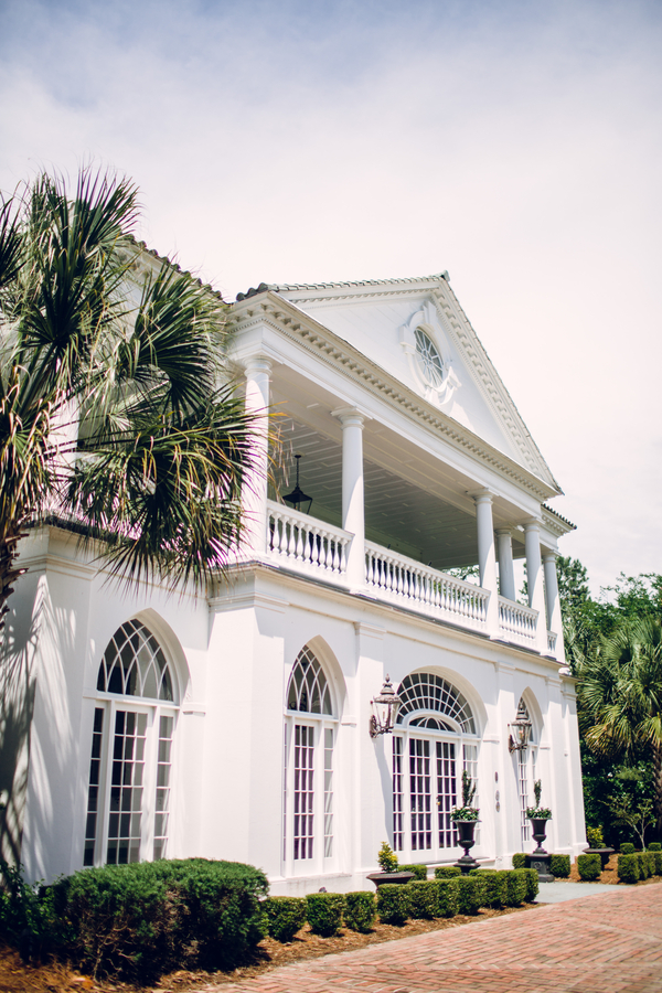 Late Summer wedding at Lowndes Grove Plantation