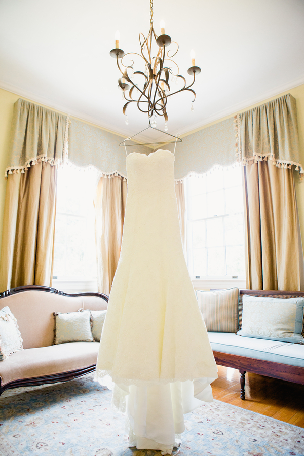 Navy + Yellow wedding at The Legare Waring House in Charleston, SC