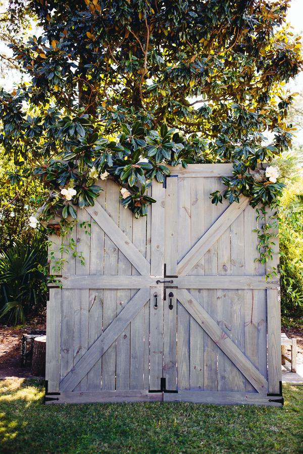 Vintage barn doors