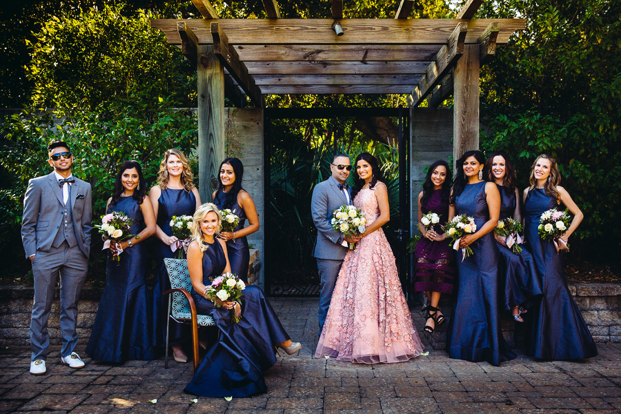 Chic Bridal Party